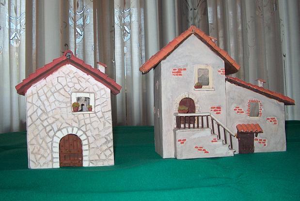 Casetta Di Natale Da Colorare : Casette di natale presepe santantonioposta